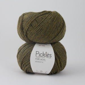 Pickles Pure Wool - Grønn te