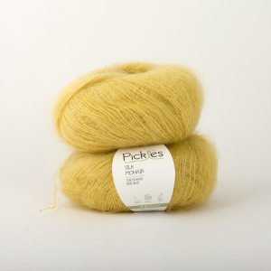 Pickles Silk Mohair - Custard