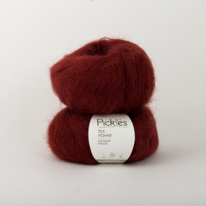 Pickles Silk Mohair - Chianti