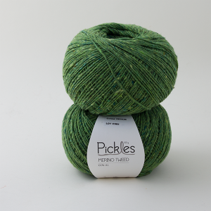 Pickles Merino Tweed - Spring leaves