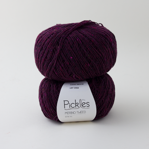 Pickles Merino Tweed - Heather