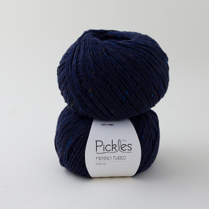 Pickles Merino Tweed - Night