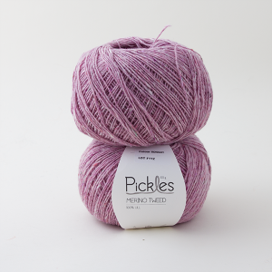 Pickles Merino Tweed - Lilac