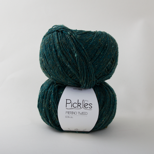 Pickles Merino Tweed - Forest