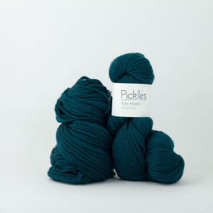 Pickles Merino Worsted - Oil green