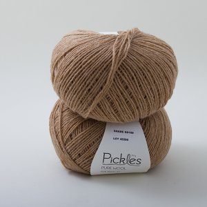 Pickles Pure Wool - Camel