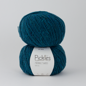 Pickles Merino Tweed - Petrol