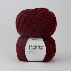 Pickles Pure Wool - Cranberry