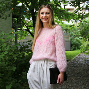 Fluffy Pink Cloud Sweater