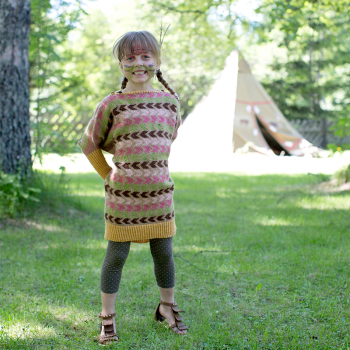 Morning Star Poncho-sweater