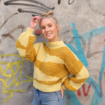 Craze / crop sweater