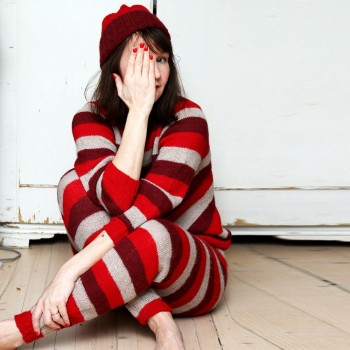STRIPE / Long Johns and Sweater (grown ups)