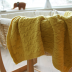 Cabled cradle spread Knitting pattern