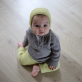 Pretty basic kit is a hand knit kit for babies